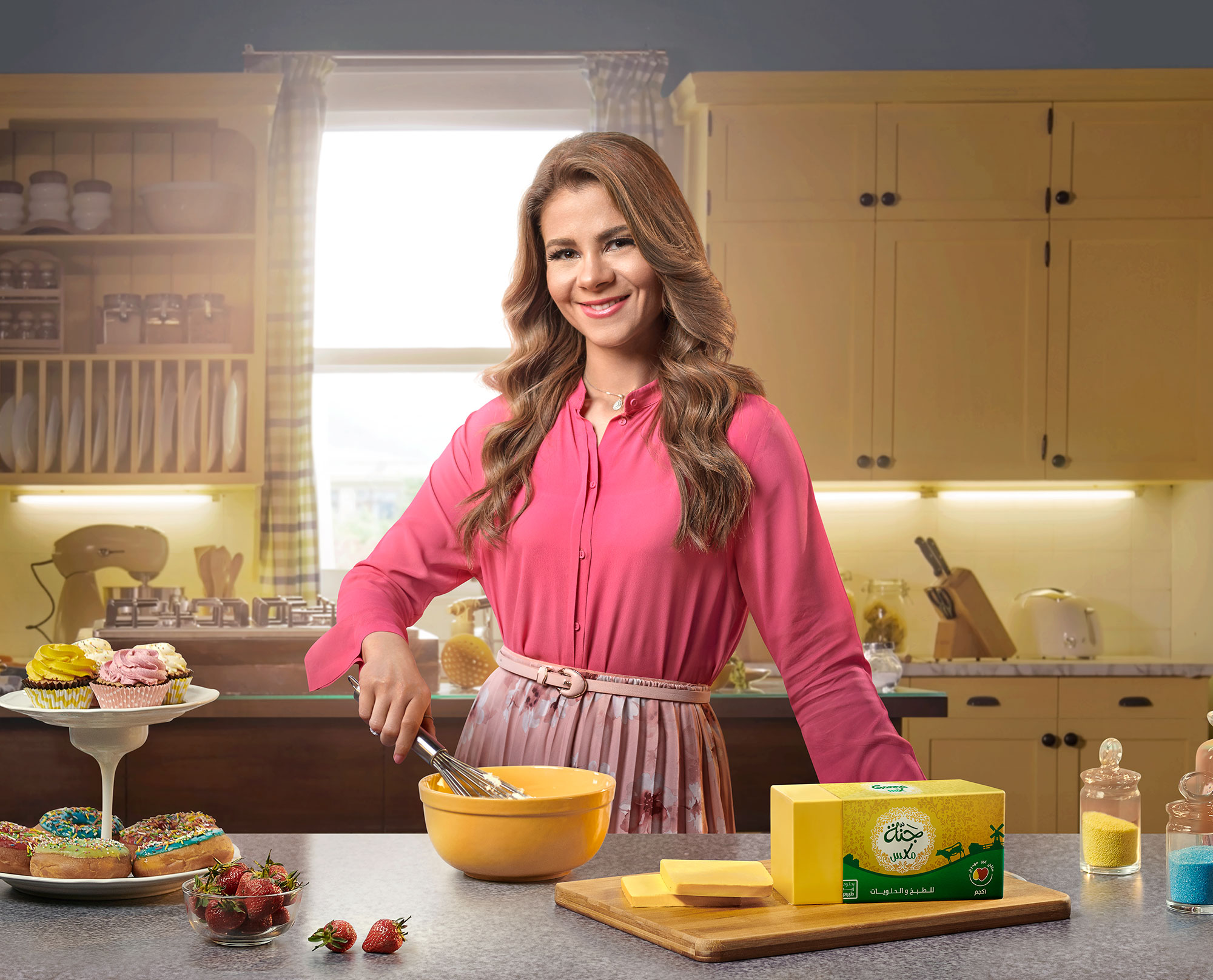 Sally Foad Cooking with Ganna Butter